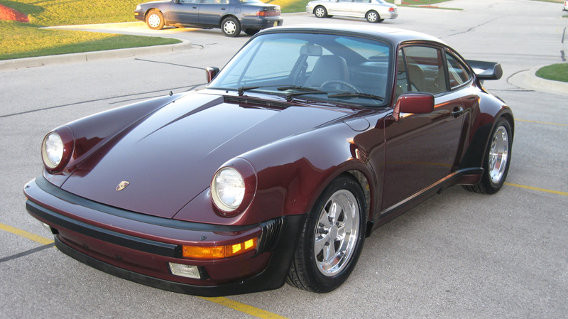 1984 porsche 911 carrera turbo look m491 ruby red black 30 130 miles sold memory. Black Bedroom Furniture Sets. Home Design Ideas