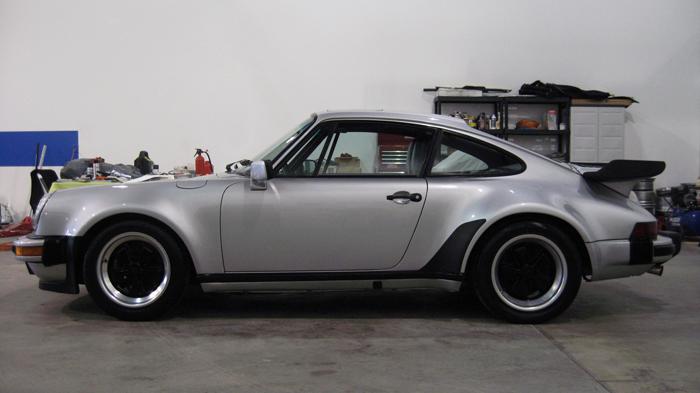 1985 Porsche 911 Carrera M491 Turbo Look Coupe Silver
