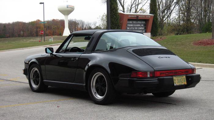 1986 Porsche 911 Carrera Targa Black Black 49 908 Miles Sold Memory Motorsports Llc