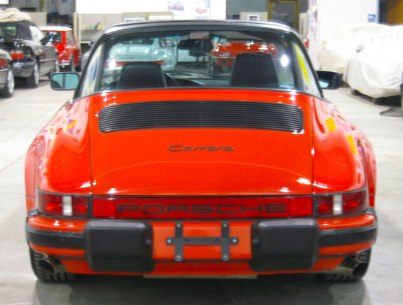 1986 Porsche 911 Carrera Targa Guards Red Black 44 725