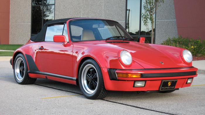 1989 Porsche 911 Carrera Turbo Look M491 Cab Guards Red