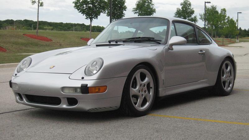 1997 Porsche 911 Carrera 2S, Arctic Silver/Black, 33,317 miles – SOLD