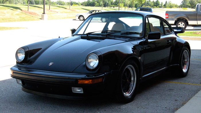 1984 Porsche 911 Carrera Turbo-Look (M491), Black/Tan, 41,132 Miles – SOLD