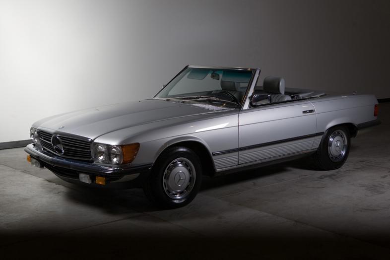 1985 Mercedes-Benz 280SL, Astral Silver/Grey, 25,230 miles – SOLD