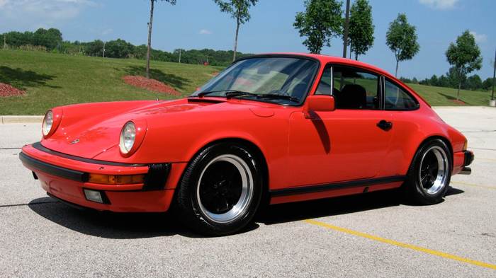 1984 Porsche 911 Carrera Coupe, Guards Red/Black, 31,954 Miles – SOLD