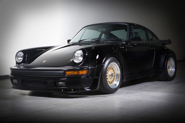 1986 Porsche 930/911 Turbo, Black/Black, 27,310 miles – SOLD