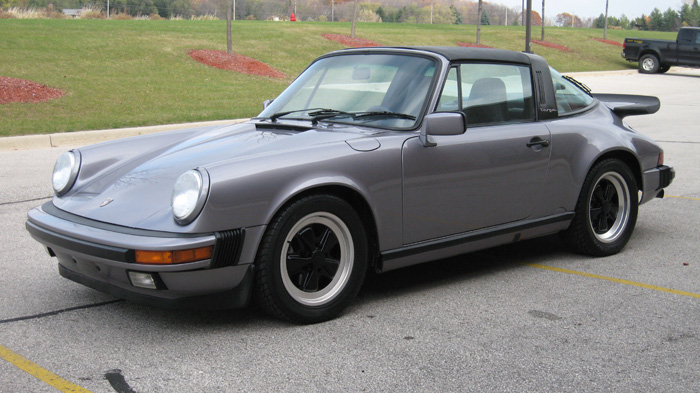 1987 Porsche 911 Carrera Targa, Diamond Blue/Navy, 62,395 Miles – SOLD