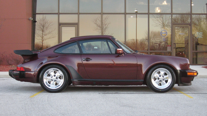 1984 Porsche 911 Carrera Turbo-Look (M491), Ruby Red/Black, 30,130 miles – SOLD