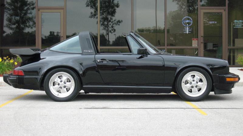 1984 Porsche 911 Carrera Targa, Black/Black, 73,853 miles – SOLD