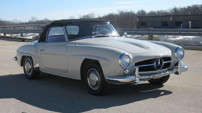 1958 Mercedes 190SL, Original Owner until 2006, Restored, ALL documents/history – SOLD